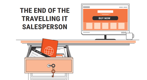 the end of the travelling it salesperson