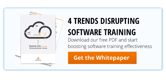 4 trends for software training