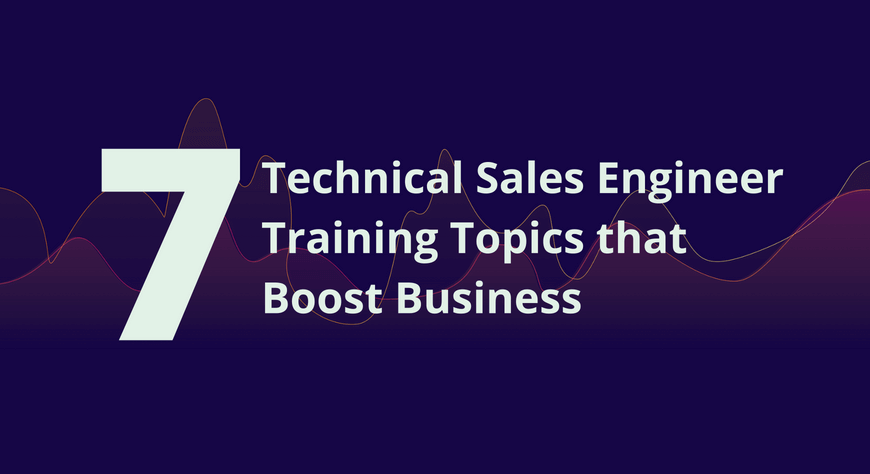 echnical Sales Engineer Training
