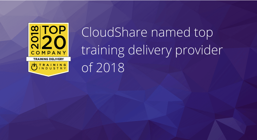 Training Industry Top Training Provider 2018