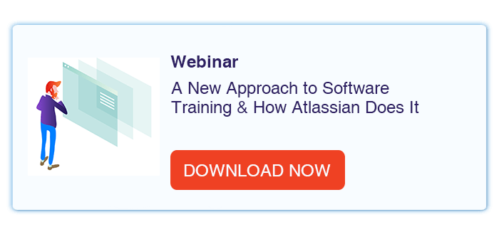 A New Approach to Software Training & How Atlassian Does It