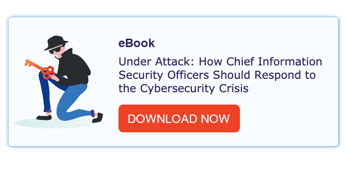 how chief information security officers should respond to the cybersecurity crisis