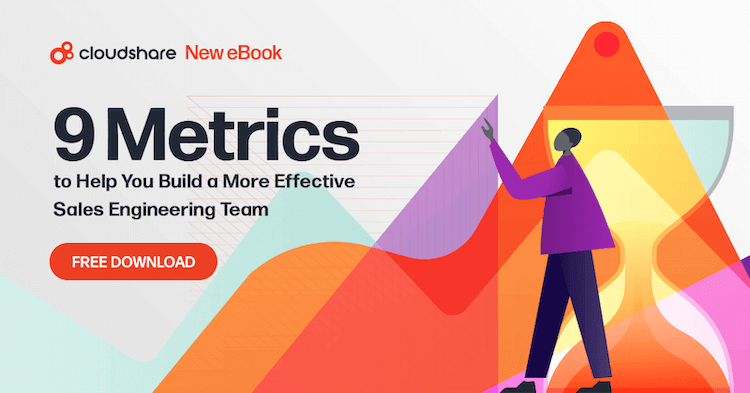 download sales engineer 9 metrics ebook