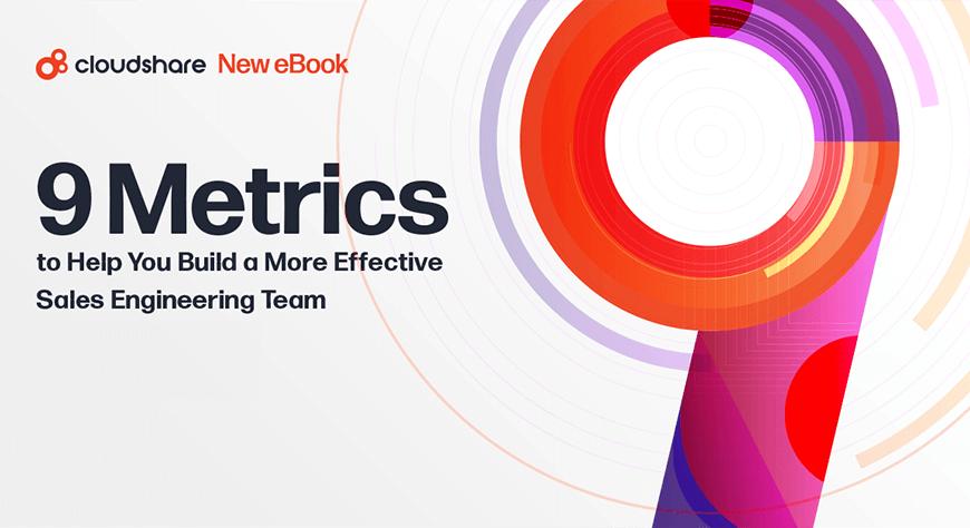 sales engineering team metrics
