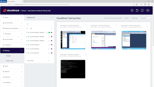 cloudshare-instructor-view-console