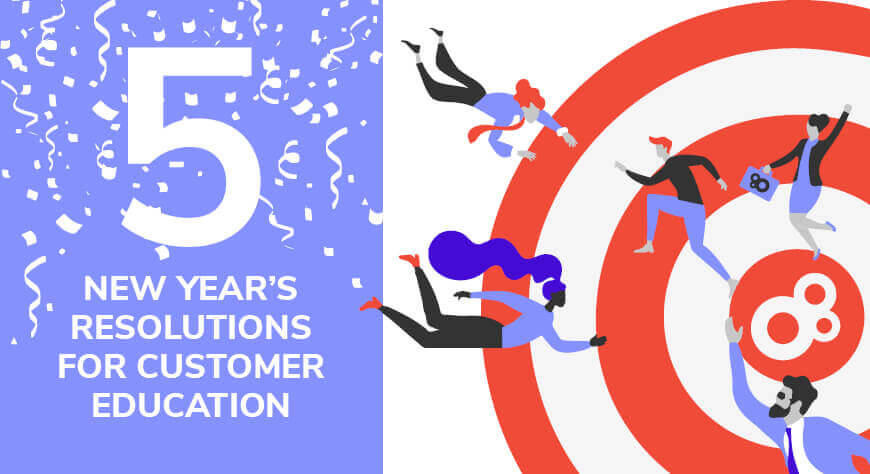 5 New Year's Resolutions for Customer Education in 2021